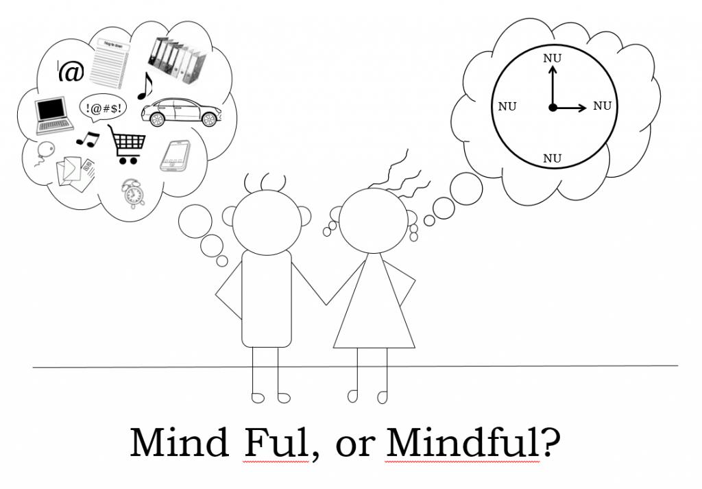 Mindfulness tekening